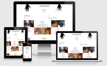 website design atelier sculpture bourdeilles