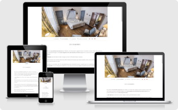 Website design Chateau de Lahitte