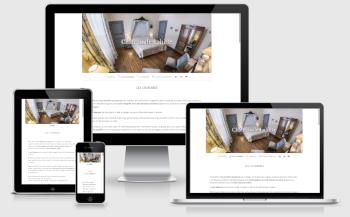 Website design Chateau de Lahitte
