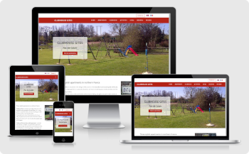 Clubhouse Gîtes - website creation Webstudio 24
