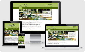 website design restaurant lesaintvictor